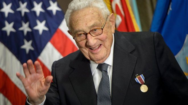 Tiến sỹ Henry Kissinger phục vụ nhiều đời tổng thống Hoa Kỳ