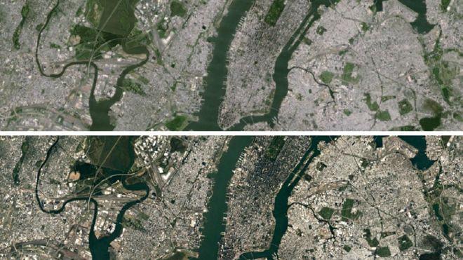 Los nuevos detalles que se pueden ver con la actualizaci�n de los mapas satelitales de Google