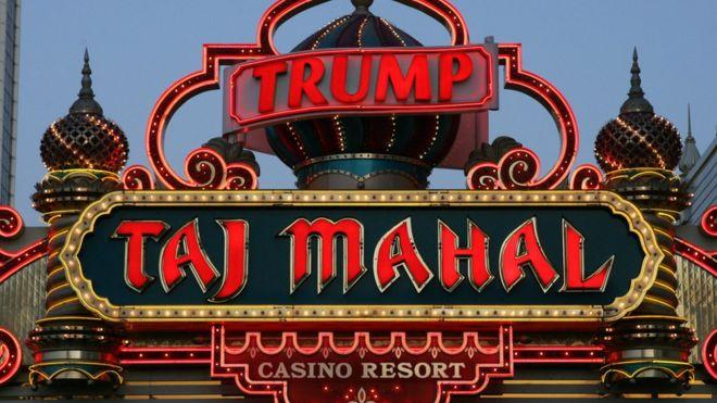 Image gallery trump casino for Taj mahal online casino