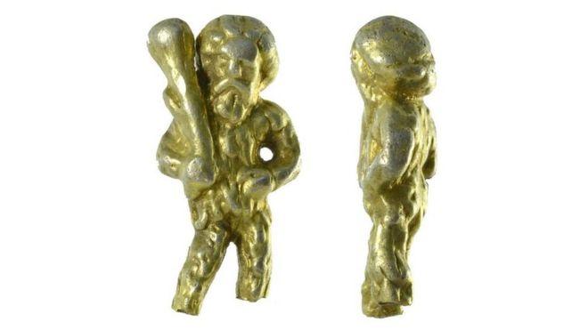 Rare treasure found in Suffolk depicts medieval 'Wild Man'