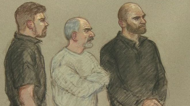 Court drawing of Thomas Mair , charged with the murder of MP Jo Cox , at Westminster Magistrates Court 18 June 2016