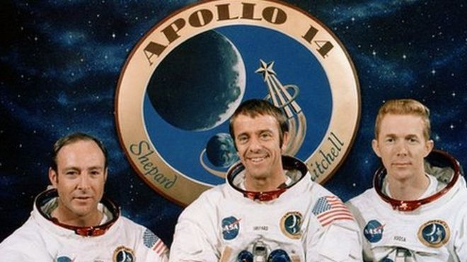 Apollo 14 crew photo