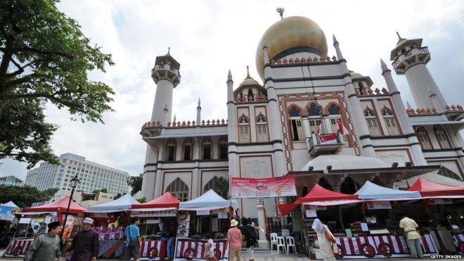 Mezquita en Singapur