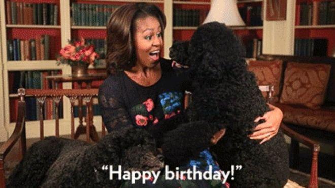 GIF de Michelle Obama