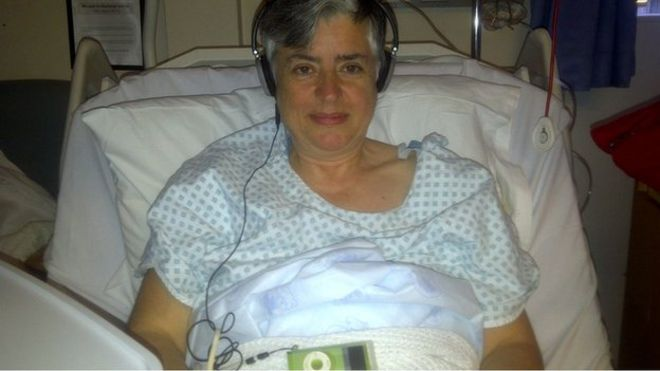 Lead researcher Dr Catherine Meads found Pink Floyd helped her relax after a recent hip operation
