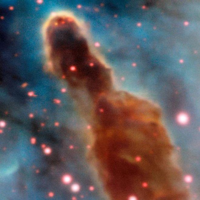 Região R18, na nebulosa de Carina