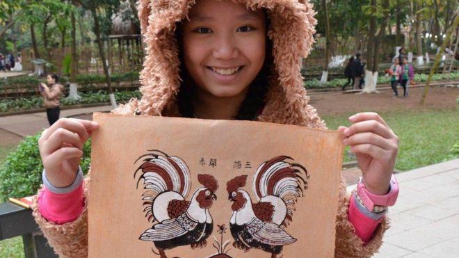 Trẻ em vui đón năm Con Gà ở Hà Nội