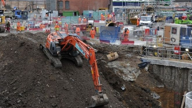 Construction of Crossrail