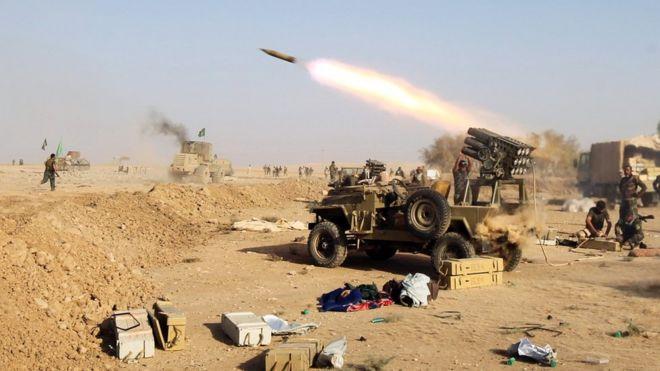 Majeshi ya vikosi vya Iraq na ukombozi wa vijiji toka kwa IS