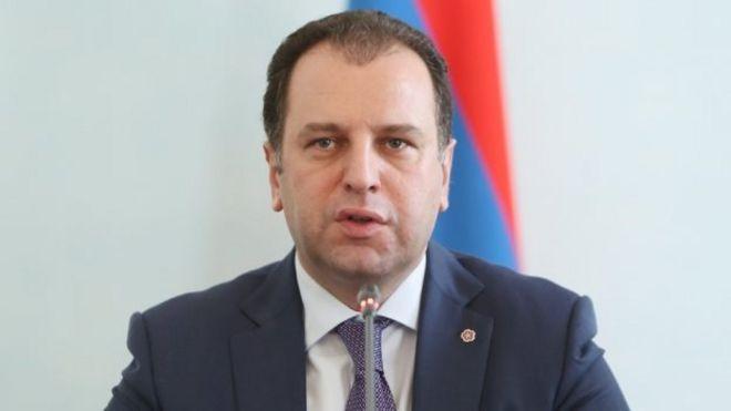 Image result for Ermənistanın yeni müdafiə naziri
