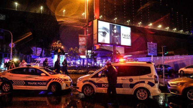 این حمله در یکی از کلوبهای شبانه معروف استانبول روی داده است