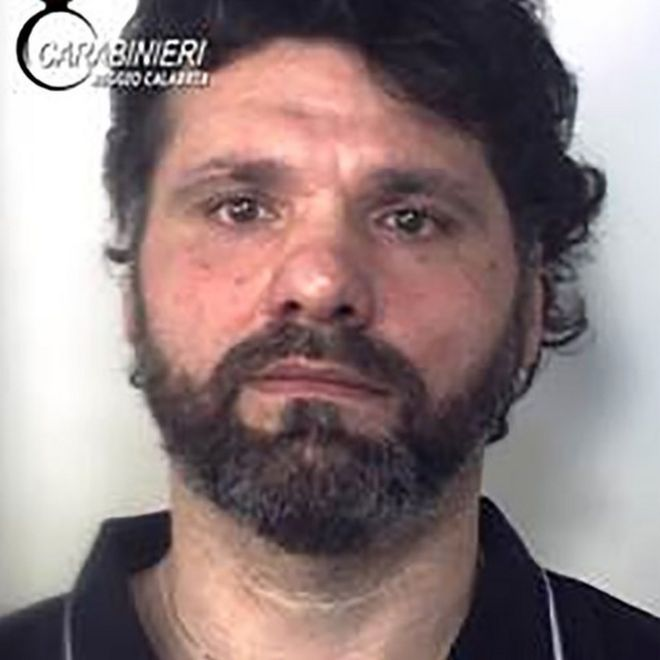 Ernesto Fazzalari in a picture released by Italian police