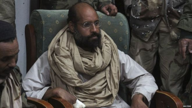 Saif al-Islam in November 2011, following his capture