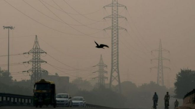 Levels of pollutants in the air were 30 times the World Health Organisation's recommended level in one neighbourhood.