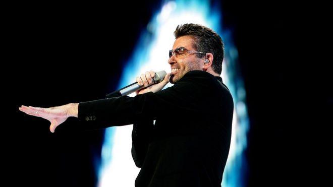 George Michael em show de 2007