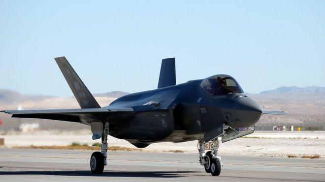 Lockheed Martin shares suffer after Trump F-35 tweet