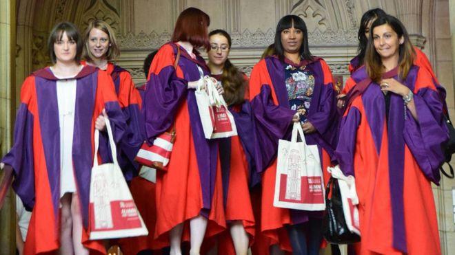 graduation at Bristol