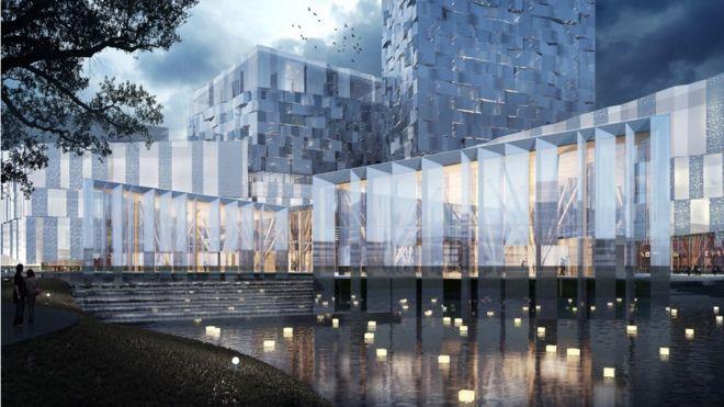 Sino-Finnish Economic and Culture Cooperation Centre in Nanjing, Jiangsu province, China
