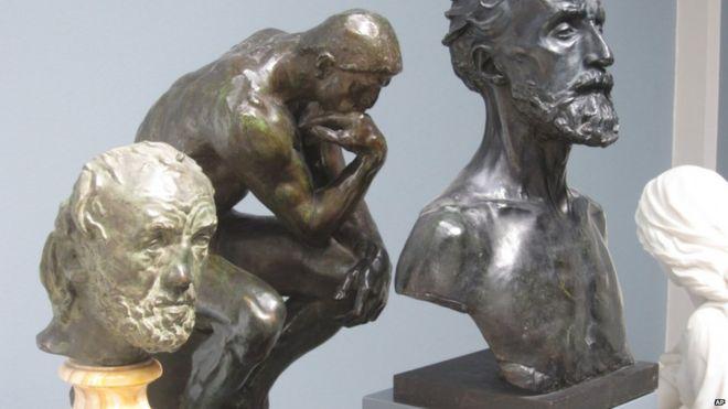 Полиция Копенгагена разыскивает преступников, которые украли скульптуру Родена