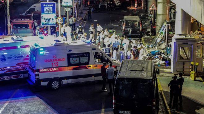 Էրդողանը Ստամբուլի օդանավակայանի պայթյունի մասին