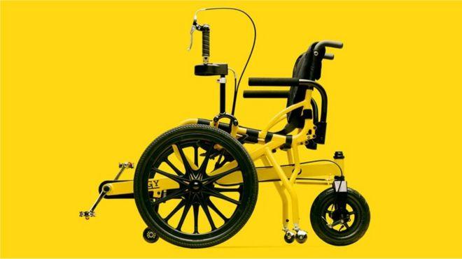 Велосипедная коляска для инвалидов Cogy Wheelchair