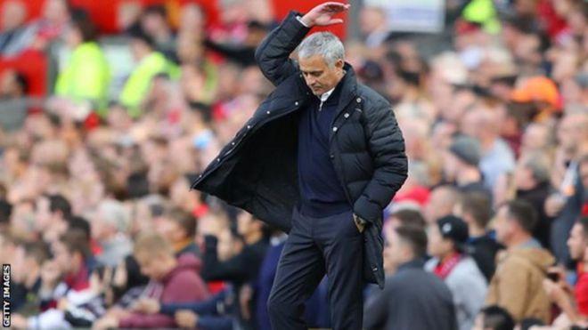 Mkufunzi wa manchester United Jose Mourinho