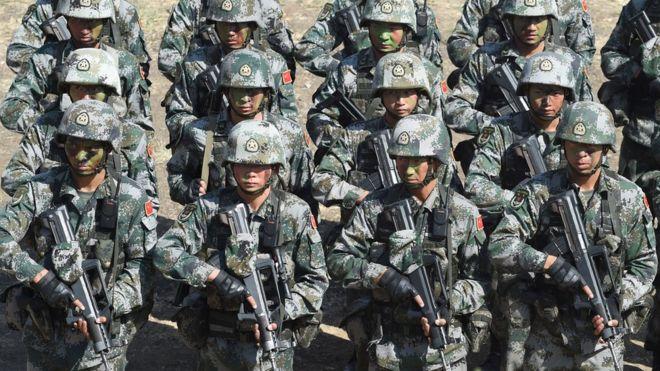 Китай решил увеличить военный бюджет на 7% в 2017 году
