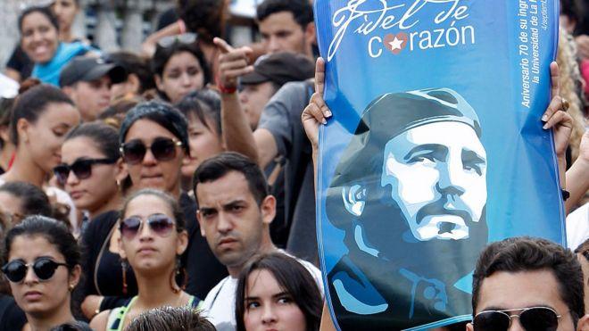 Estudiantes en La Habana