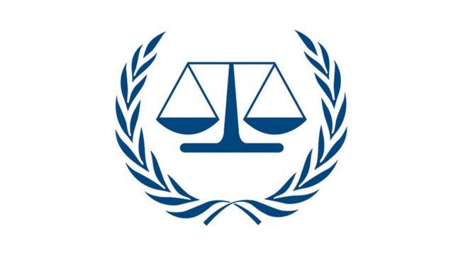 Image result for international criminal court logo