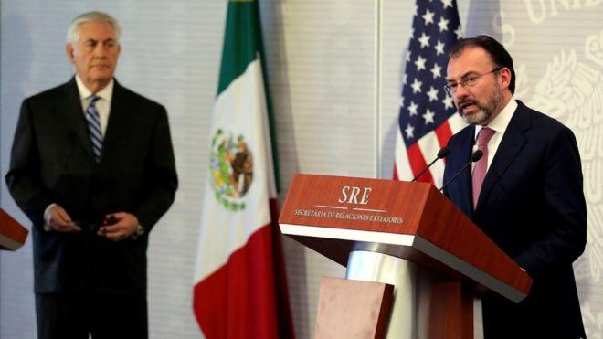 美墨关系最低点 美国务卿蒂勒森访墨西哥