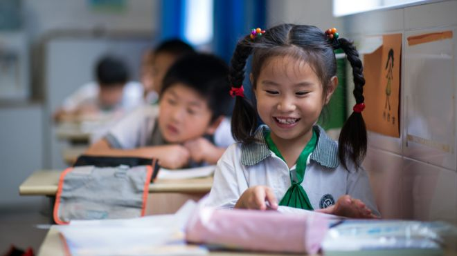 niña china