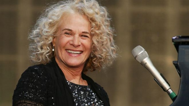 Carole King plays Hyde Park