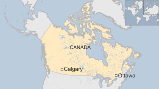Ndege hiyo ilitarajiwa kusafiri kutoka uwanja wa ndege wa Calgary Canada kuelekea nchini Mexico