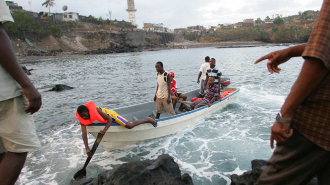 Migrants from Anjouan arrive in Mayotte