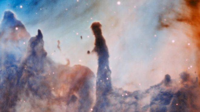 Región R44 en la nebulosa de Carina