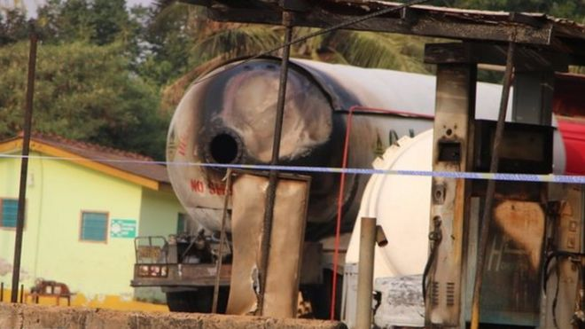 Residents Scampered for Safety as Gas Explosion 'kills five' in Accra
