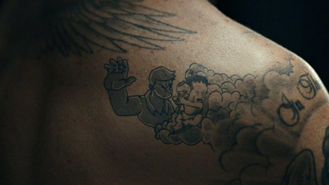 David Beckham's tattoos come to life in child abuse campaign