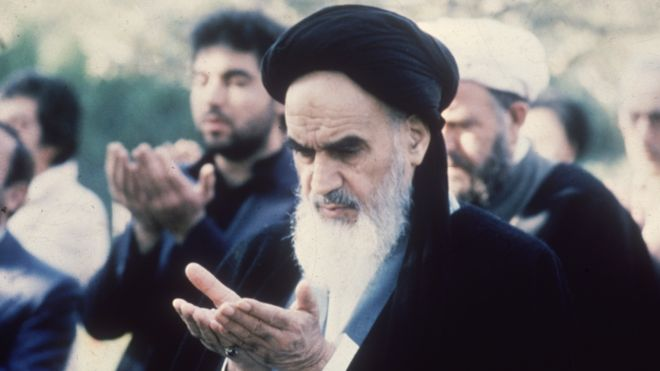 Khomeini in France