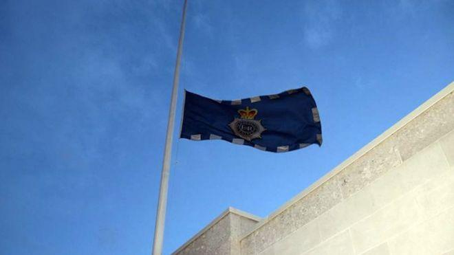 Flag over Scotland Yard