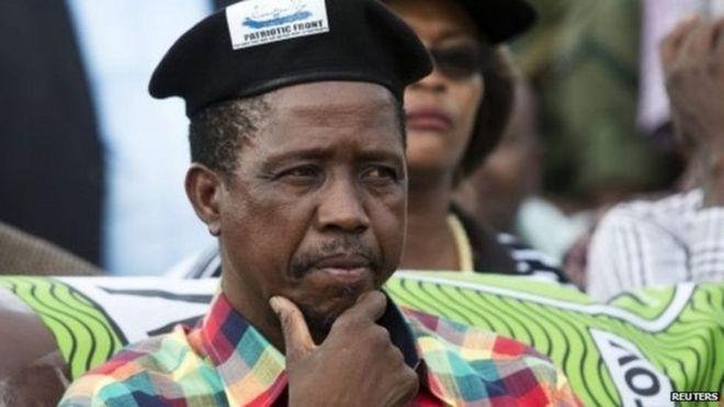 Rais wa Zambia,Edgar Lungu