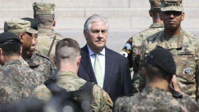 Ngoại trưởng Hoa Kỳ đến Hàn Quốc sau khi thăm Nhật Bản