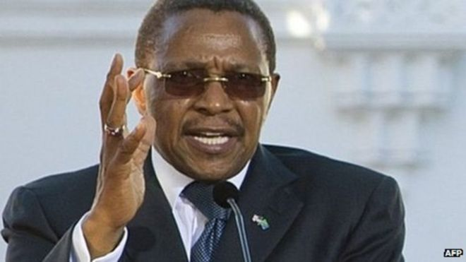 Rais Mstaafu Jakaya Kikwete