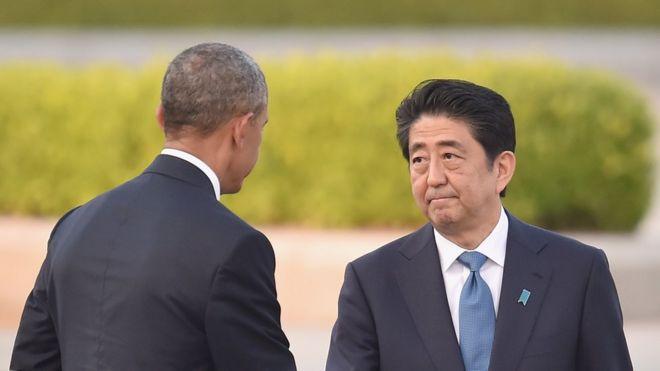 Ông Barack Obama thăm Hiroshima cùng ông Abe hồi tháng Năm