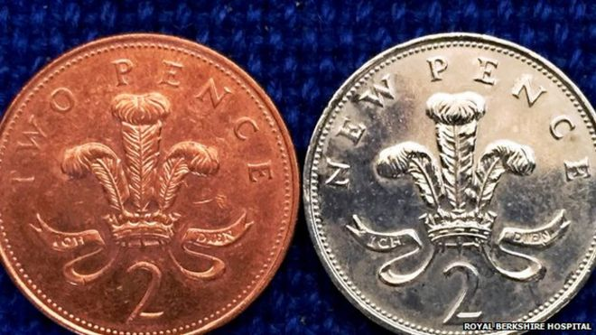 BBC picture of 2p coin