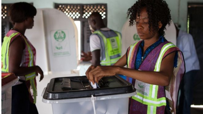 The results of last year's elections in Rivers state were challenged in court
