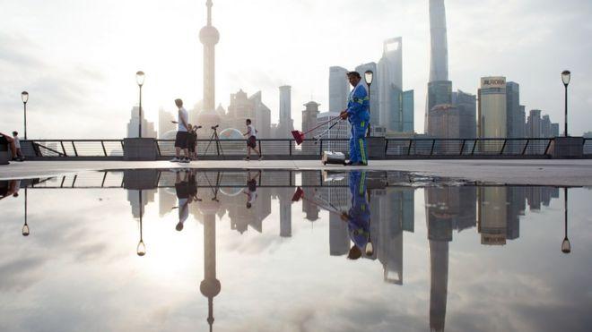 Chinese skycrapers
