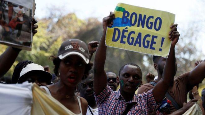 Maandamano Gabon