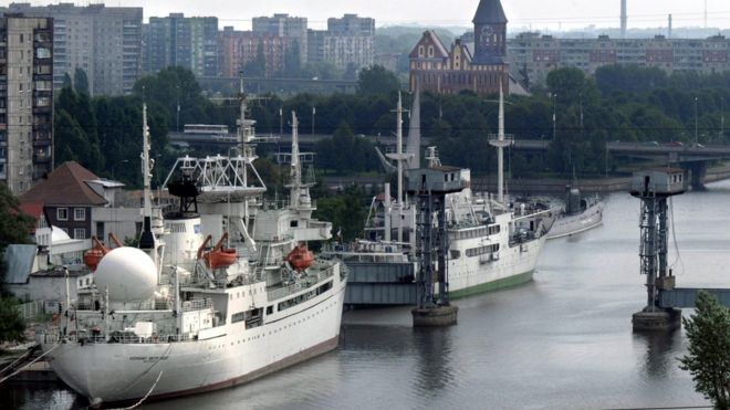 Vista de la ciudad de Kaliningrado