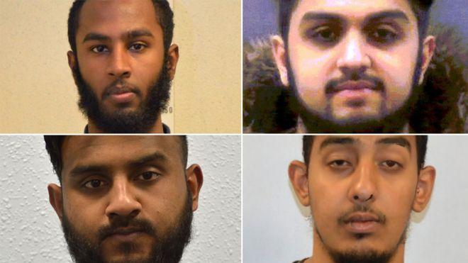Makzhumi Abukar, Fahim Islam, Ahmed Ahmed and Anrul Islam