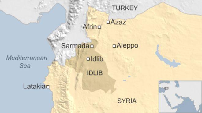 Syria refugees bombed